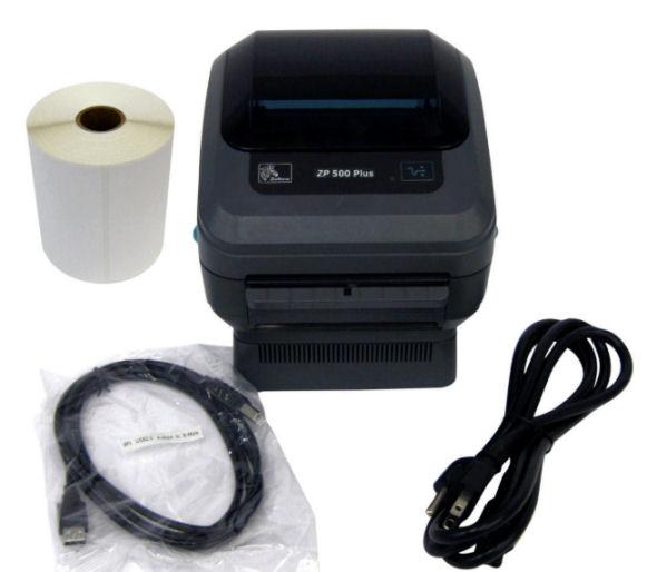 Zebra Zp500 Plus Epl Zpl Direct Thermal Shipping Label