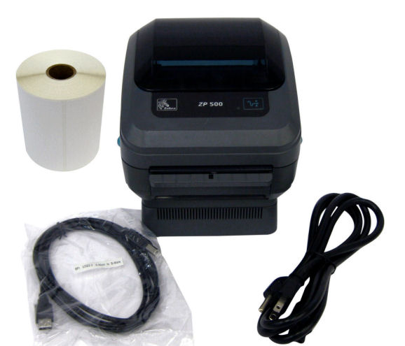 Zebra ZP500 Low Usage Shipping Thermal Label Printer For